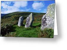 Standing Stone Alignment, Near Greeting Card