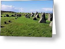 Standing Stones On A Landscape Greeting Card