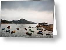 Stanley Bay Hk Greeting Card