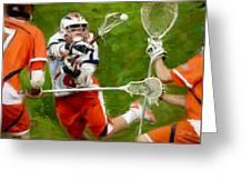 Stanwick Lacrosse 2 Greeting Card