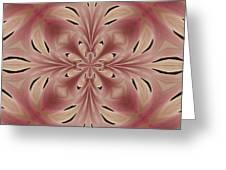 Star Magnolia Medallion 2 Greeting Card