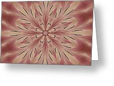 Star Magnolia Medallion 3 Greeting Card