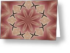 Star Magnolia Medallion 4 Greeting Card