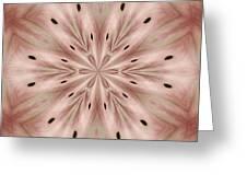 Star Magnolia Medallion 6 Greeting Card