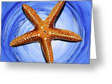 Star Of Mary Greeting Card by J Vincent Scarpace