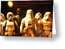 Star Wars Gang 2 Greeting Card by Micah May