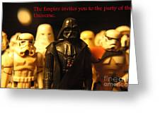 Star Wars Gang 5 Greeting Card