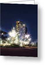 Starlight Building Greeting Card