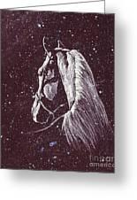 Starlight Serenade Greeting Card