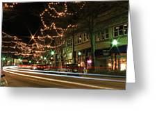Starry Nights - Main Street Nights Greeting Card
