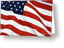 Stars And Stripes - D004586 Greeting Card