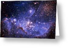 Stars And The Milky Way Greeting Card