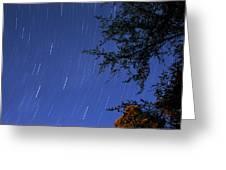 Stars Falling Greeting Card