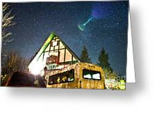 Stars Over Pow Wow Greeting Card