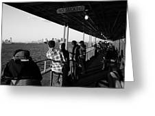 Staten Island Ferry 2 Greeting Card