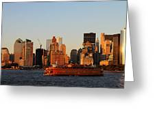 Staten Island Ferry 3 Greeting Card