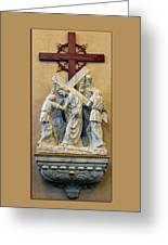 Station Of The Cross 05 Greeting Card