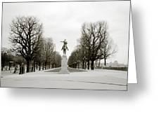 Nostalgia Of Paris Greeting Card