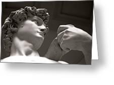 Statue Of David Greeting Card