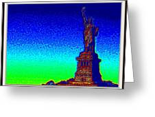 Statue Of Liberty-3 Greeting Card