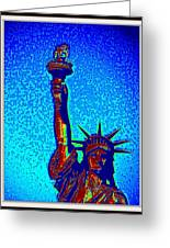 Statue Of Liberty-4 Greeting Card