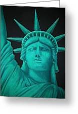 Statue Of Liberty ... Greeting Card