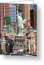 Statue Of Liberty Nv Greeting Card