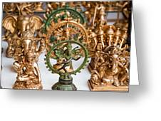 Statues For Sale Of Hindu Gods Greeting Card