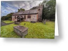 St.dyfnog's Church Greeting Card by Adrian Evans
