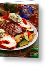 Steak And Lobster Greeting Card