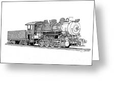 Steam Switcher Number 1894 Greeting Card