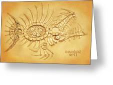 Steamfish 2 Greeting Card