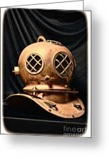 Steampunk - Diving - Diving Helmet Greeting Card