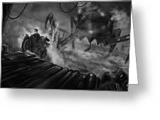 Steampunk Noir Greeting Card