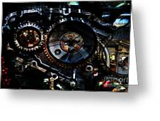 Steampunk Personal Decompression Chamber Model 39875da78803 Fully Accessorized Greeting Card