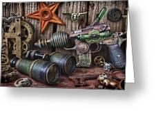 Steampunk Still Life Greeting Card