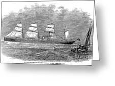 Steamship: Republic Greeting Card