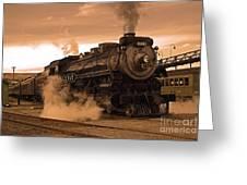 Steamtown Engine 2317 Greeting Card