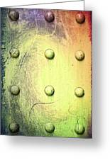 Steel Beam Abstract Greeting Card