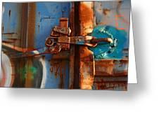 Steel Blues Greeting Card