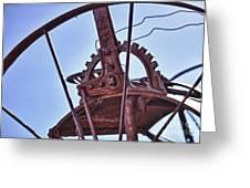Steel Wheel Greeting Card