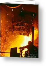Steelworks Greeting Card