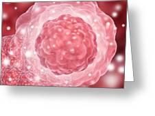 Stem Cell, Conceptual Artwork Greeting Card