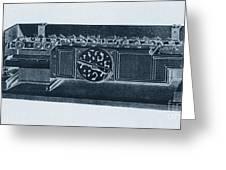 Step Reckoner, Leibniz Mechanical Greeting Card
