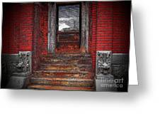 Steps To The Past Greeting Card
