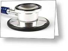 Stethoscopes Diaphragm Greeting Card by Photo Researchers, Inc.