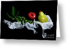 Still Fruits Greeting Card