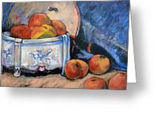Still Life Peaches Greeting Card