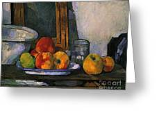 Still Life With An Open Drawer Greeting Card