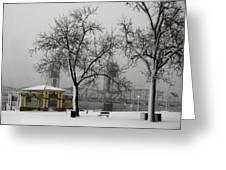 Stillwater Blizzard Greeting Card